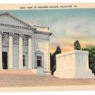 Arlington National Cemetery VA Tomb of Unknown Soldier Postcard Reynolds Linen