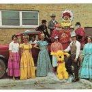 MI Hazel Park 2nd Annual Community Fair Vtg 1966 Postcard Antique Truck Costumes
