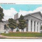 Arlington VA Custis Lee Mansion Posted 1932 Washington News Company Postcard