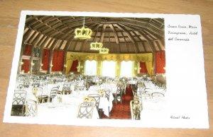 Vintage Crown Room Main Diningroom Hotel del Coronado Postcard