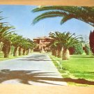 Vintage Entrance U.S. Veterans Hospital Tucson Arizona Postcard