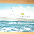 Vintage Holland America Cruise Line Ship Postcard