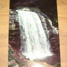 Vintage Looking Glass Falls Pisgah National Forest Postcard