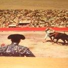 Vintage Bullfighting La Suerta De Los Banderilleros Postcard
