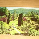 Vintage Sunken Gardens Victoria BC Postcard