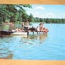 Vintage Luther Park Bible Camp Chetek Wisconsin Postcard