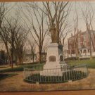 Vintage Haverhill Massachusetts Hannah Duston Monument Postcard