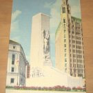 Vintage The Alamo Cenotaph San Antonio Texas Postcard
