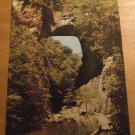 Vintage Natural Bridge Virginia Postcard