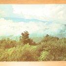Vintage Clouds Below The Peaks Great Smoky Mountains National Park Postcard