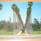 Vintage Houghton Park Long Beach California Postcard