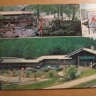 Vintage Brookside Motel And Ranch House Gatlinburg TN Postcard