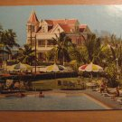 Vintage Castle House Key West Florida Postcard