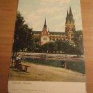 Vintage Uppsala Sweden Postcard