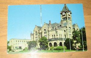 Vintage Victoria County Court House Victoria Texas Postcard