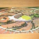 Vintage Dodger Stadium Los Angeles CA Postcard