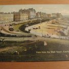 Vintage View From The Wish Tower Eastbourne UK Postcard