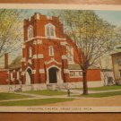 Vintage Episcopal Church Grand Ledge Michigan Postcard