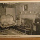 Vintage Drawing Room Constable Hall Constableville NY Postcard