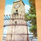 Vintage Clock Tower Jenks Park Central Falls Rhode Island Postcard