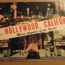 Vintage Greetings From Hollywood California Postcard