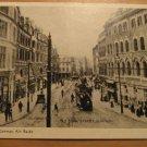Vintage Old Town Street Plymouth Before The German Air Raids Postcard