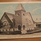 Vintage Congregational Church Grand Ledge Michigan Postcard