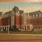 Vintage Empress Hotel Victoria B.C. Postcard