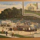 Vintage Fremont Yacht Club Fremont Ohio On The Sandusky River Fremont Ohio Postcard