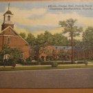 Vintage Frazier Hall Norfolk Naval Base VA Postcard