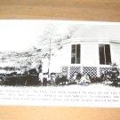 Vintage Huge 1890 Tree Stump Photo Postcard