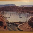 Vintage Hoover Dam & Lake Mead Nevada Side Postcard
