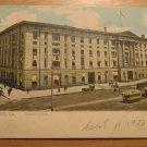 Vintage New Orleans LA Custom House Trolley Postcard