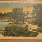 Vintage Cleveland Museum Of Art Overlooking The Fine Arts Garden Cleveland OH Postcard