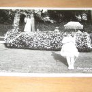 Vintage Tournament Of Roses Parade 1940 Photo Postcard