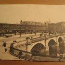 Vintage Glascow Bridge UK Postcard