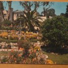 Vintage Flower Gardens Pacific Palisades Brentwood CA Postcard