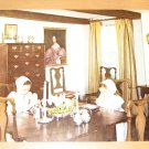 Vintage Dining Room In Bowne House Flushing NY Postcard