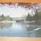 Vintage Looking Across The Mill Pond At Old Sturbridge Village Postcard