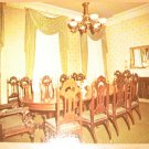 Vintage Theodore Roosevelt Birthplace Dining Room NY Postcard