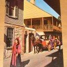 Vintage St Augustine Florida Street Scene Postcard