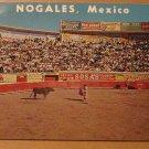 Vintage Nogales Mexico Plaza De Toros Bull Ring Postcard
