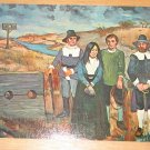 Vintage New England Witchcraft Painting By Frank Milby Postcard