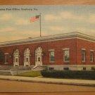 Vintage United States Post Office Sunbury PA Postcard