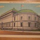 Vintage Corcoran Art Gallery Washington D.C. Postcard