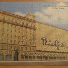 Vintage Titche Goettinger Department Store Dallas Texas Postcard