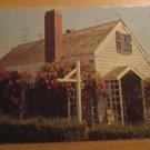 Vintage Rose Covered Cottage Provincetown Mass Postcard