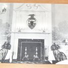 Vintage Fireplace Hardings Colonial Room Chicago IL Postcard