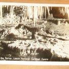 Vintage Fountain Of The Fairies Carlsbad Cavern Postcard