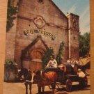 Vintage Paul Masson Vineyards Saratoga California Postcard